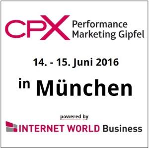 CPX Performance Marketing Gipfel @ Holiday Inn Munich – City Centre | München | Bayern | Deutschland