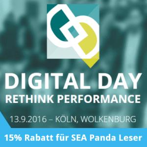 DIGITAL DAY – Rethink Performance @ Wolkenburg | Köln | Nordrhein-Westfalen | Deutschland