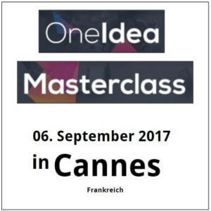 OneIdee Masterclass Cannes @ Radisson Blu Hotel | Cannes | Provence-Alpes-Côte d'Azur | Frankreich