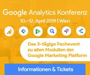 Google Analytics Konferenz 2019 @ Schloß Schönbrunn