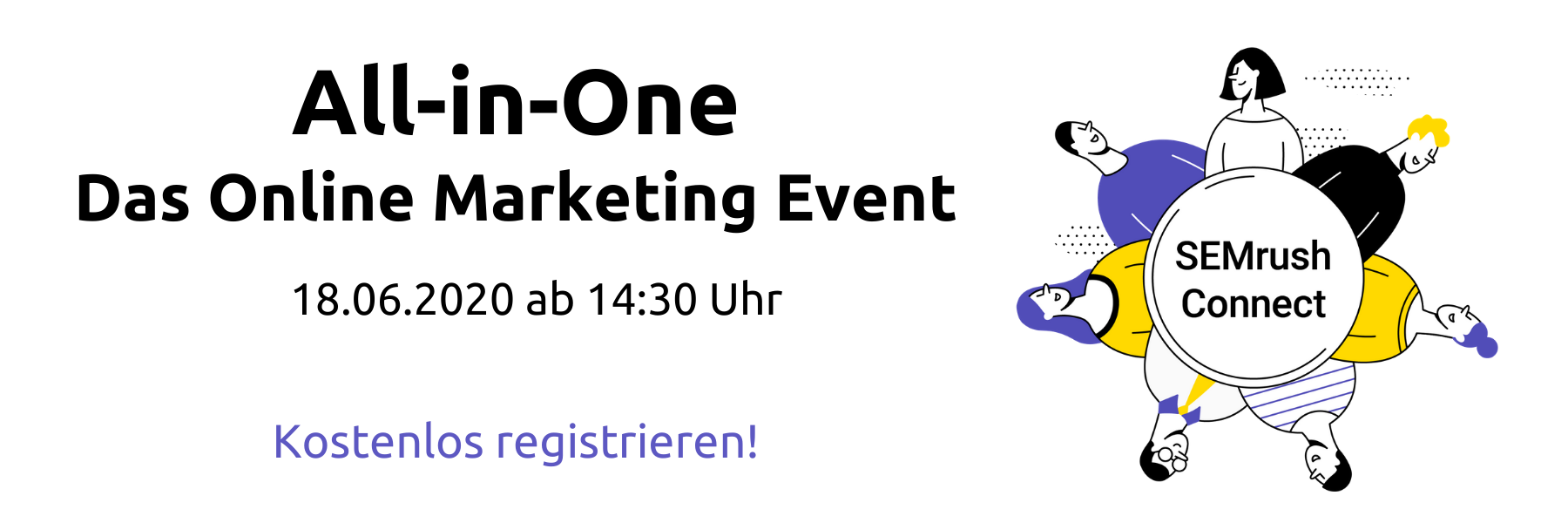 Anmeldung Online Marketing Event Semrush