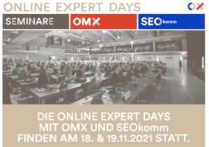Online Expert Days @ Brandboxx in Salzburg/Österreich